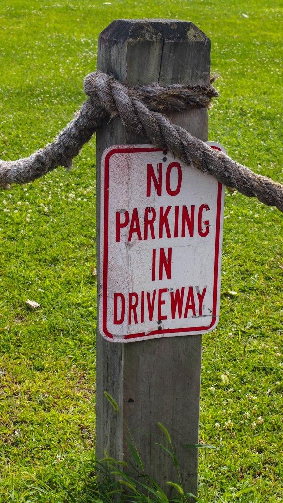 Sign park